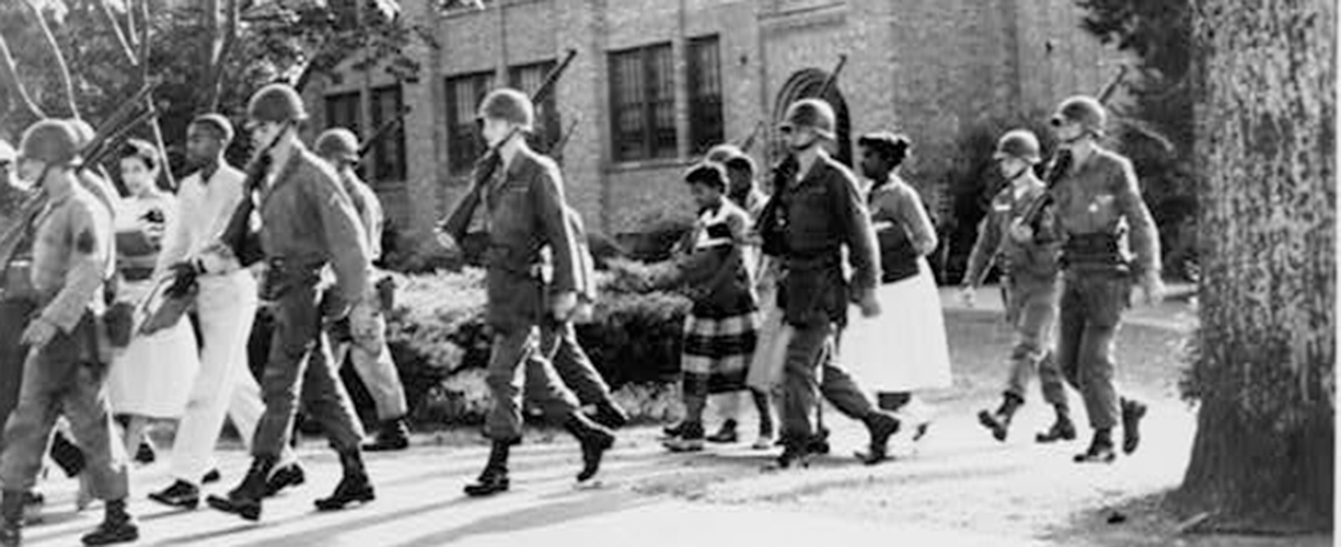 SCHOOL DESEGREGATION AND THE LITTLE ROCK NINE